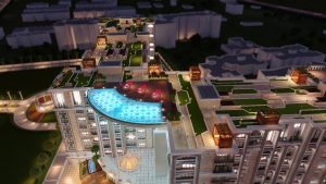 Infinity pool - High-end apartment amemities