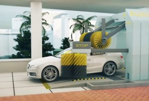 Automatic car wash - Best facilities at The Residence