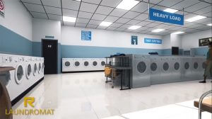 Landromat - Luxury apartments offer laundromat service for residents