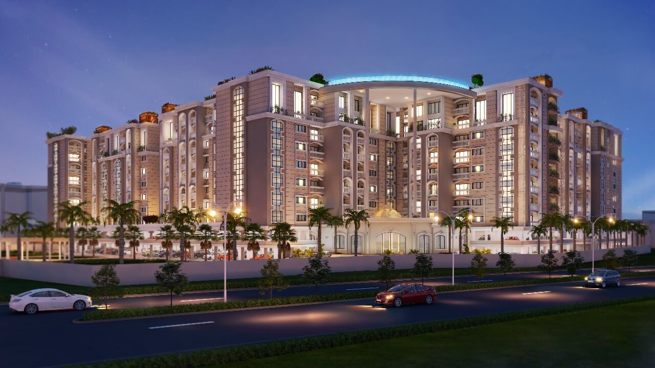 mazebuildcon - luxury appartments in indore